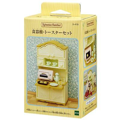 Sylvanian Families CUPBOARD AND TOASTER SET Epoch KA-419 Calico Critters   JP