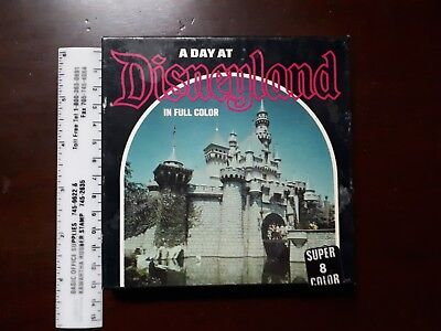 A Day at Disneyland Super 8 film in original box  1976
