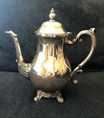 Vintage F.B. Rogers Silver Co Trademark 1883 Coffee/Tea Pot Silver Plated #2352