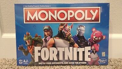 MONOPOLY FORTNITE Edition Board Game - NEW in Factory sealed box