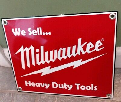 Milwaukee tool Sign