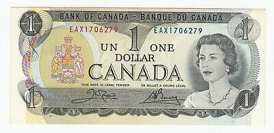 1973 Bank of Canada $1 Replacement Note  - Nice Uncirculated Condition