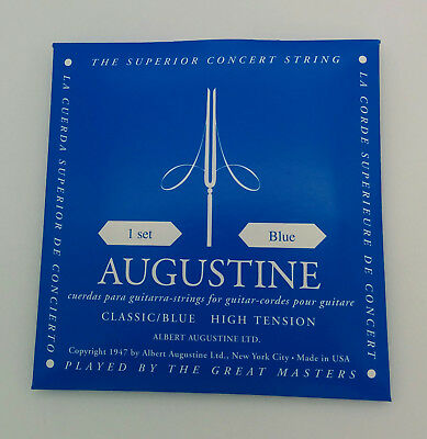 AUGUSTINE Classic Blue - Set Corde Chitarra Classica High Tension