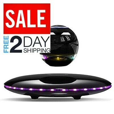 Infinity Orb Magnetic Levitating Speaker Bluetooth LED Flash Wireless Floating