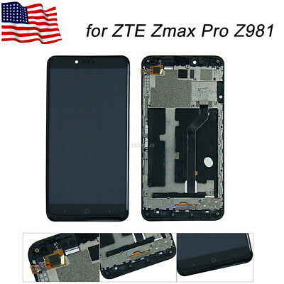 USA NEW ASSEMBLY For ZTE Majesty Pro Z798BL LCD Display Touch Screen