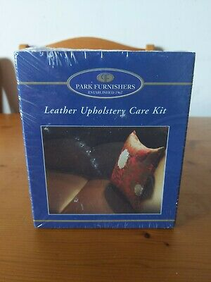 New Leather Upholstery Care Kit Park Furnishers