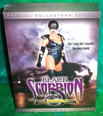 New Rare Oop Black Scorpion Collector Edition Complete Series 22 Episodes Tv Dvd