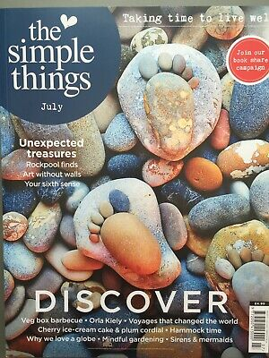 The Simple Things Magazine Issue 73 July 7/2018 DISCOVER Orla Kiely Gardening