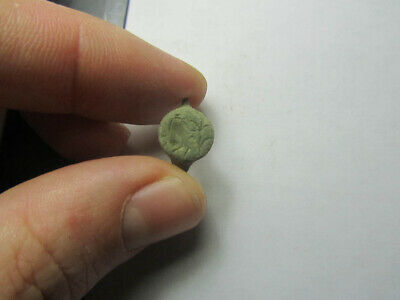 Ancient warrior  Fragment  ancient ring  Metal detector finds 100% original