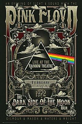 PINK FLOYD - RAINBOW THEATRE POSTER 24x36 - MUSIC CONCERT 3224