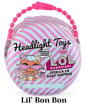 1 LOL Surprise Series 6 Big OOH LA LA BABY Lil' Sister Bon Bon Doll Ball 2 3 5