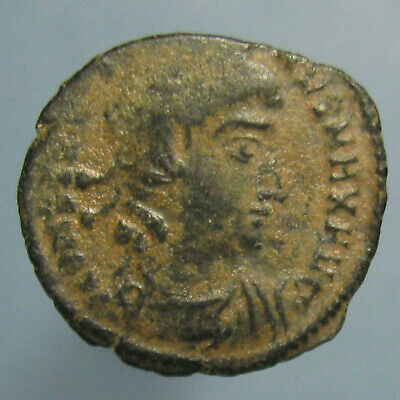 Constantine the Great GLORIA EXERCITVS AE-3/4 from Nicomedia - Nice Sand Patina