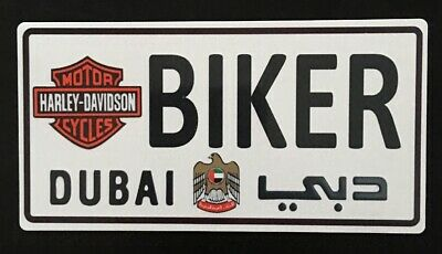 3a888de7 Harley Davidson Motorcycle Biker Metal Sign Dubai Collectible Rare Man Cave