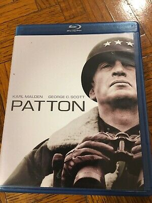 Patton (Blu-ray Disc, 2009, 2-Disc Set) Karl Malden George C. Scott