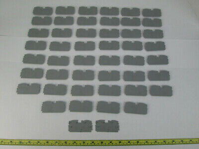Lot of 48 Wago End and Intermediate Plate Separators 2016-1291