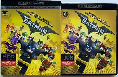The Lego Batman Movie 4K Ultra Hd Blu Ray 2 Disc Set + Slipcover Sleeve Buy It