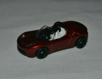 Hot Wheels Hw Space Tesla Roadster With Starman Red 2/5 Loose Free Shipping