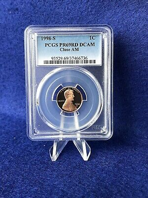 1998-S PROOF LINCOLN CENT 1c (CLOSE AM VARIETY)  *PCGS PR69 RD DCAM SUPERB GEM*