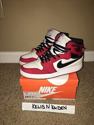 timeless design 25ac7 c6a77 Nike Air Jordan 1 KO AJKO High OG Chicago White Red Black 638471-101 Sz