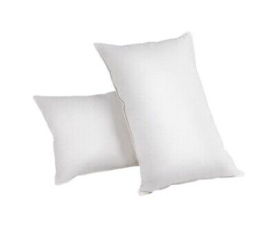 Giselle Duck Feather Down Pillow 73 x 48cm Cotton Cover Twin Pack