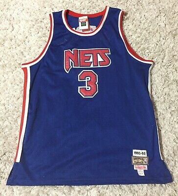 ce0a45a04d4 Drazen Petrovic New Jersey Nets Brookyn Mitchell & Ness Authentic jersey  size 58