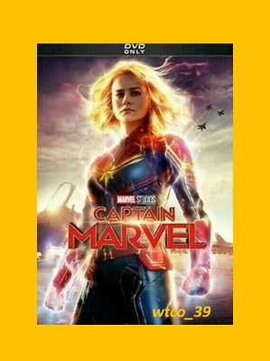 Captain Marvel [DVD][2019] NEW* Action, Sci-Fi* FREE SHIPPING!!!!