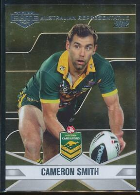 2013 NRL Elite Australian Representative 2012 Football Card #AR1 Cameron Smith