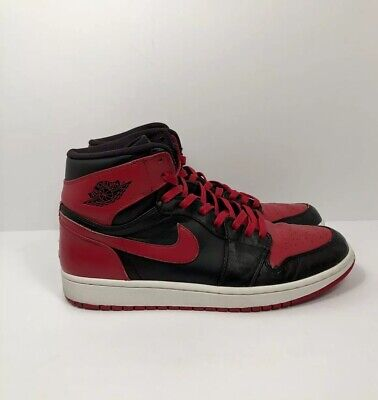 """check out 182d0 391f9 Air Jordan Retro 1 High DMP """"Chicago Bulls"""" Basketball Shoes Size 12  Preowned"""