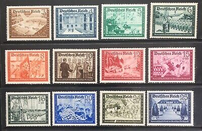 Germany Third Reich 1939 Postal Employees' & Hitler's Culture Fund MLH
