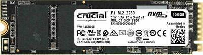 Crucial P1 1TB 3D NAND NVMe PCIe M.2 SSD - NOW $227.95 WITH COUPON