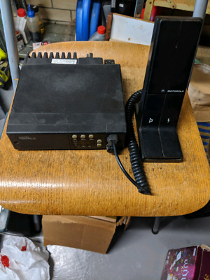 Base station with power supply VHF