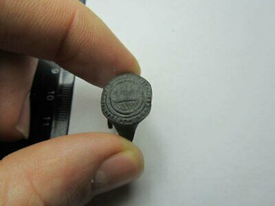 Drakar. Fragment  ancient ring  Metal detector finds 100% original