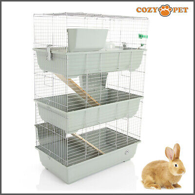 Rabbit / Guinea Pig 3-Tier Cage by Cozy Pet 80cm RB80-T Rat, Chinchilla, Hutch
