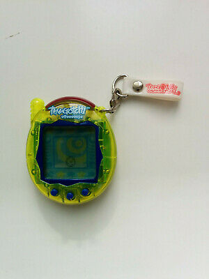 Tamagotchi Connection - Version 3 - Yellow Shell With Blue Buttons