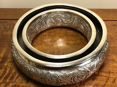Antique Handmade Solid Silver Wreath