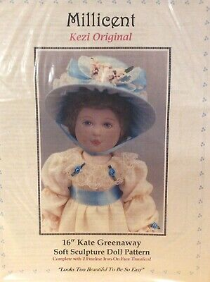 Cloth Doll Sewing Pattern By Kezi Matthew