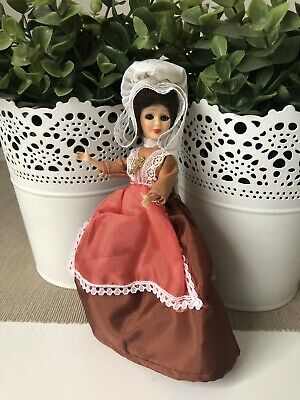 Vintage Plastic French Doll Marked Made In France Perina Religion Nun Souvenir