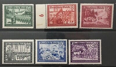 Germany Third Reich 1941 Companionship Block of the German Empire Post MNH