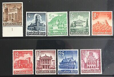 Germany Third Reich 1940 Winter Relief: Buildings MNH