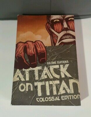 Attack on Titon Colossal Edition Vol 1