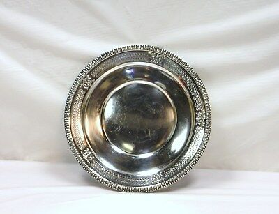 "Antique  M. FRED HIRSCH CO INC Sterling .925  10-1/2"" Tray 305 gr #151"