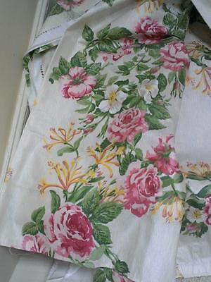 GORGEOUS Jane Churchill curtain fabric floral vintage material L2210 x W2100mm
