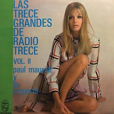Paul Mauriat Orchestra Mexico Sexy Cover lp Cheesecake Instrumental Lounge