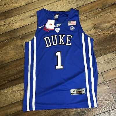 2d165054542 NWT Zion Williamson Duke Blue Devils NCAA College Basketball Nike Jersey