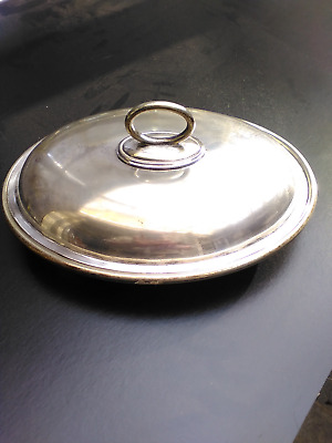 Vintage  Silver Plated Tureen & Cover  By  Walker & Hall, Sheffield