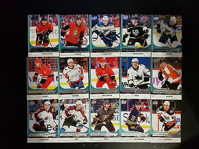 2017-18 Upper Deck Young Guns RC Lot of 34 Tuch Nylander Jost & More!