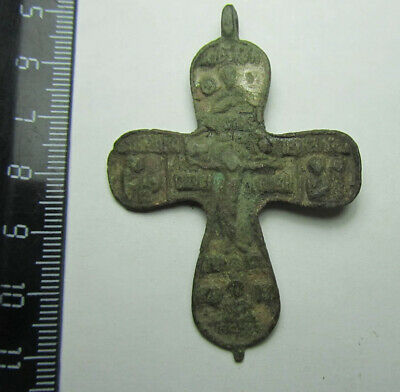 Ancient  cross 14-15th  centuries  Metal detector finds 100% original
