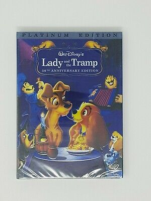 Lady and the Tramp DVD 2 Disc Set Special Edition comes w/ Slipcover Free Ship!