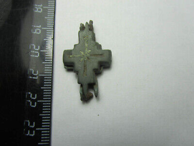 Reliquary cross  Ancient  cross Exorcism 11-13th  centuries  100% original