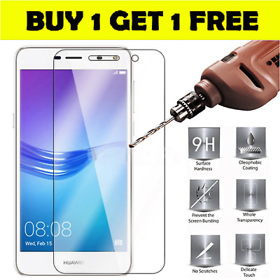 Tempered glass protector for Huawei Honor 6x 7 7x 8 8X 9 10 lite 8C 6A 7c 7a 9i